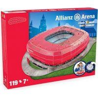 Nanostad 3D puzzle Stadion Allianz Arena FC Bayern Mnichov