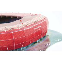 Nanostad 3D puzzle Štadión Allianz Arena FC Bayern Mníchov 4
