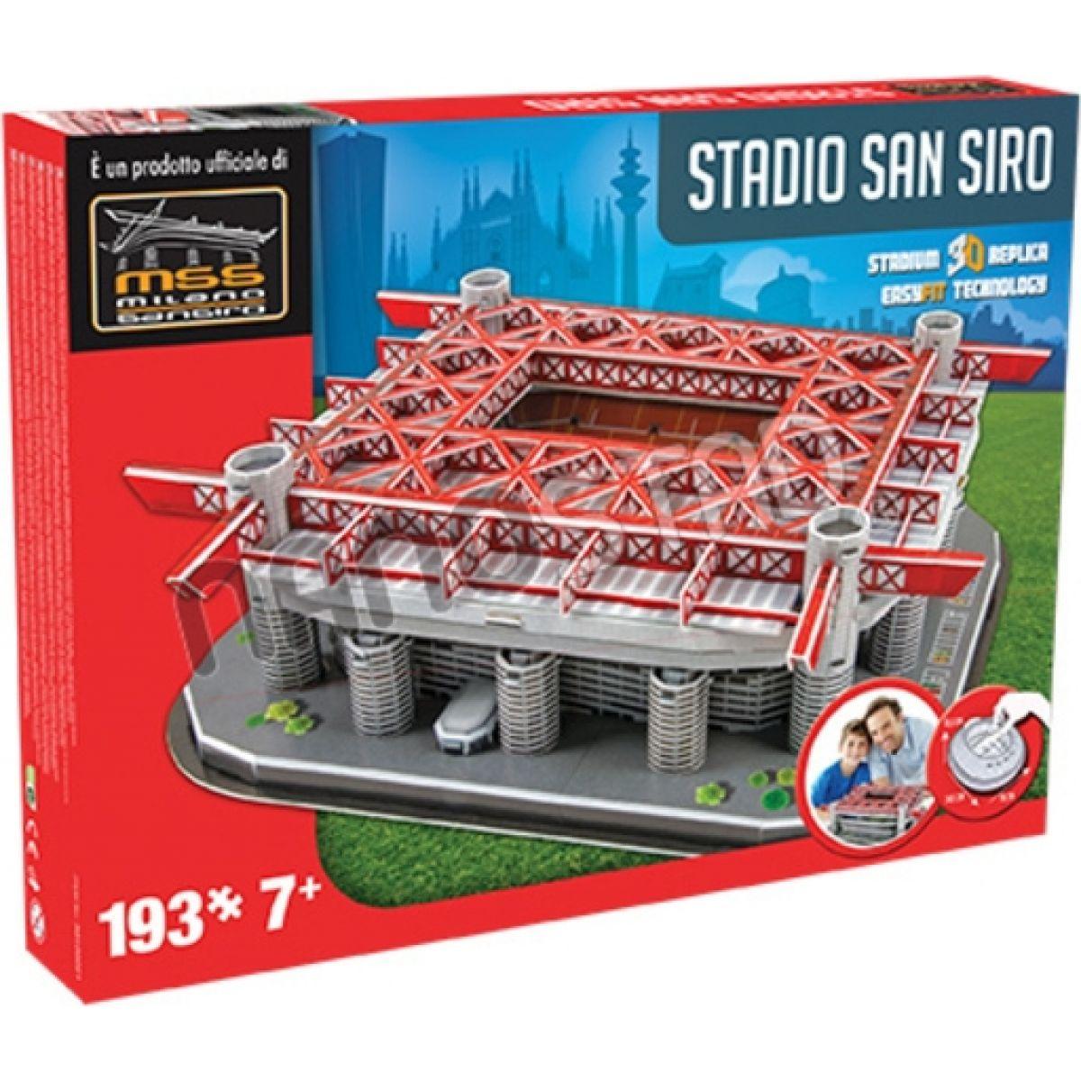 Nanostad 3D puzzle ITALY San Siro Inter's packaging 193 dielikov
