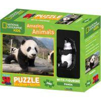 National Geographic Kids 3D Puzzle Panda 100 dílků figurka