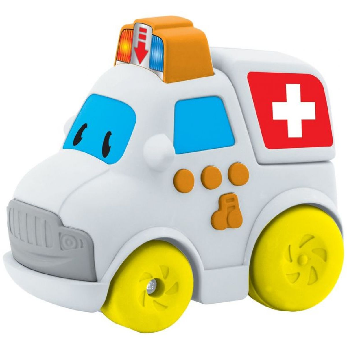 Navystar Autíčko záchranári - Biela ambulancie