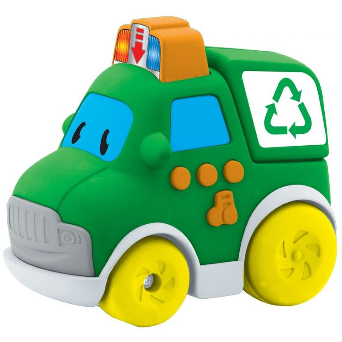 Navystar Autíčko záchranári - Zelené recyklačné