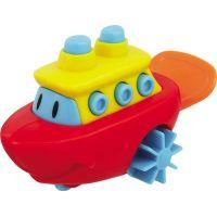 Navystar Naťahovacie hračka do vody - červená loď