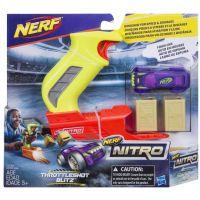 Nerf Nitro Throttleshot Blizt Fialové auto 2
