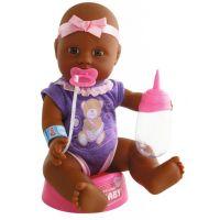 New Born Baby Bábika černoška