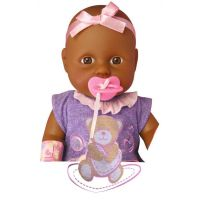 New Born Baby Bábika černoška 2