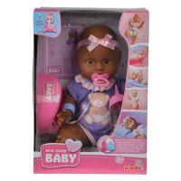 New Born Baby Bábika černoška 3