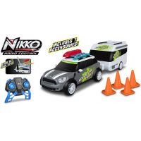 Nikko RC Mini Countryman s karavanom šedý 2