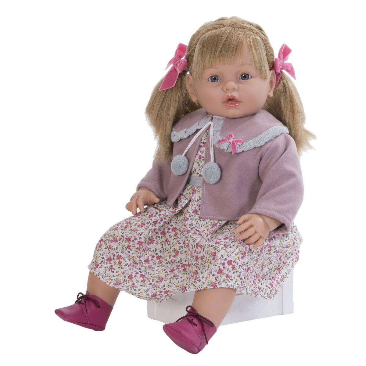 Nines bábika Leonor Rose 63 cm mechanická