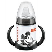NUK šedá FC Fľaška na učenie Disney MICKEY MOUSE 150ml silikónové savička