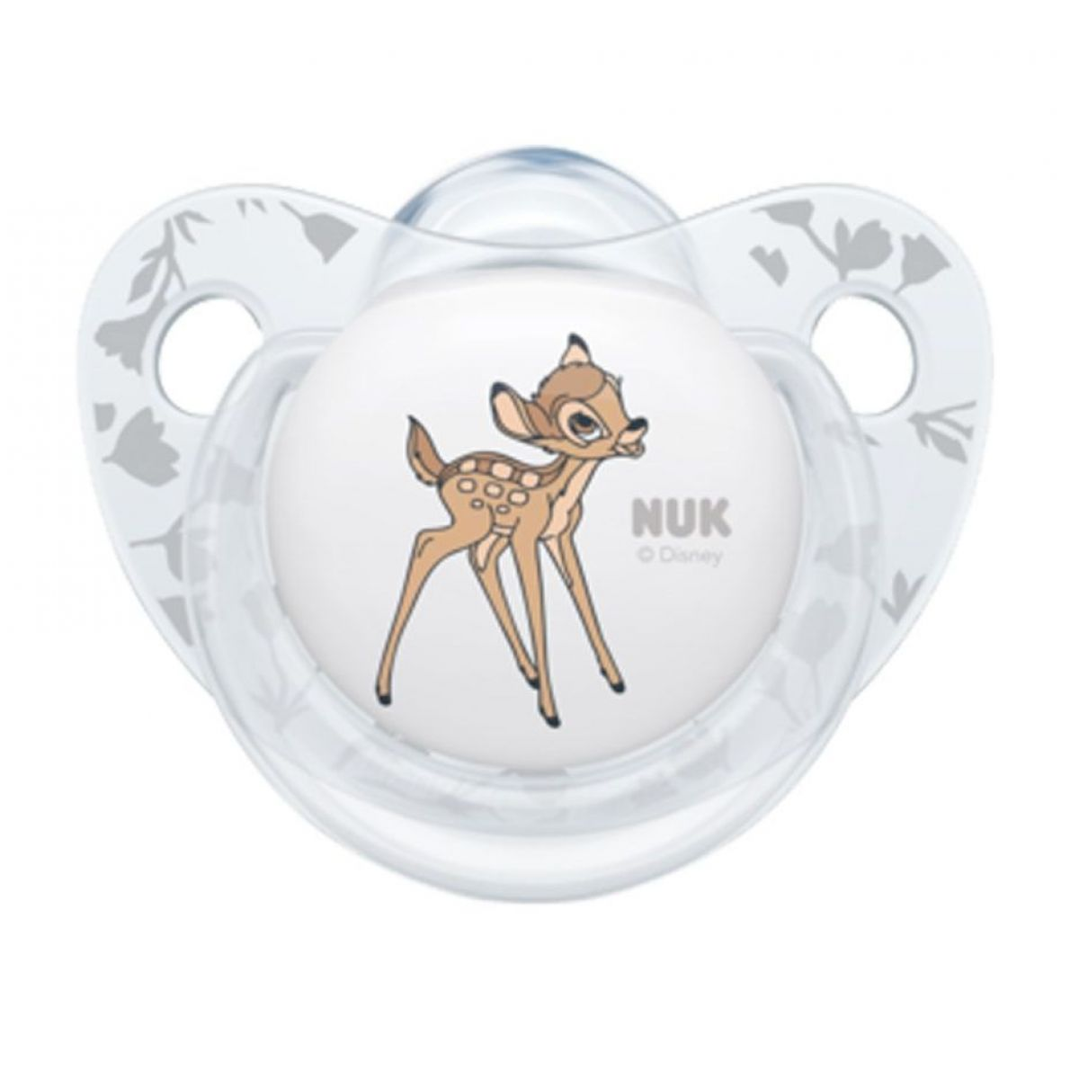 NUK dojčenský cumlík Disney Classic transparentný