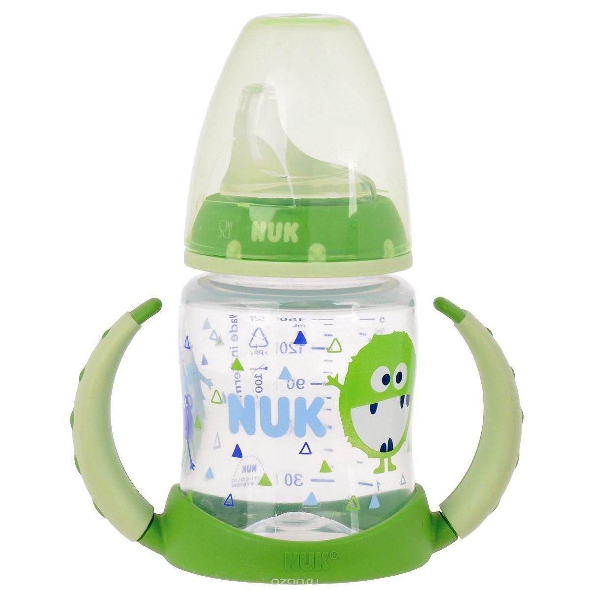 Nuk FC lahvička na učení 150 ml zelená