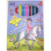 O poníkoch - vyfarbi si puzzle