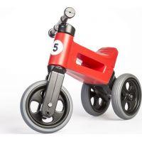 Funny Wheels Odrážadlo 2v1 červené