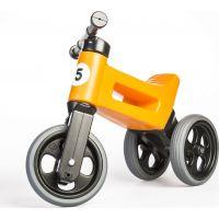 Funny Wheels Odrážadlo 2 v 1 oranžové