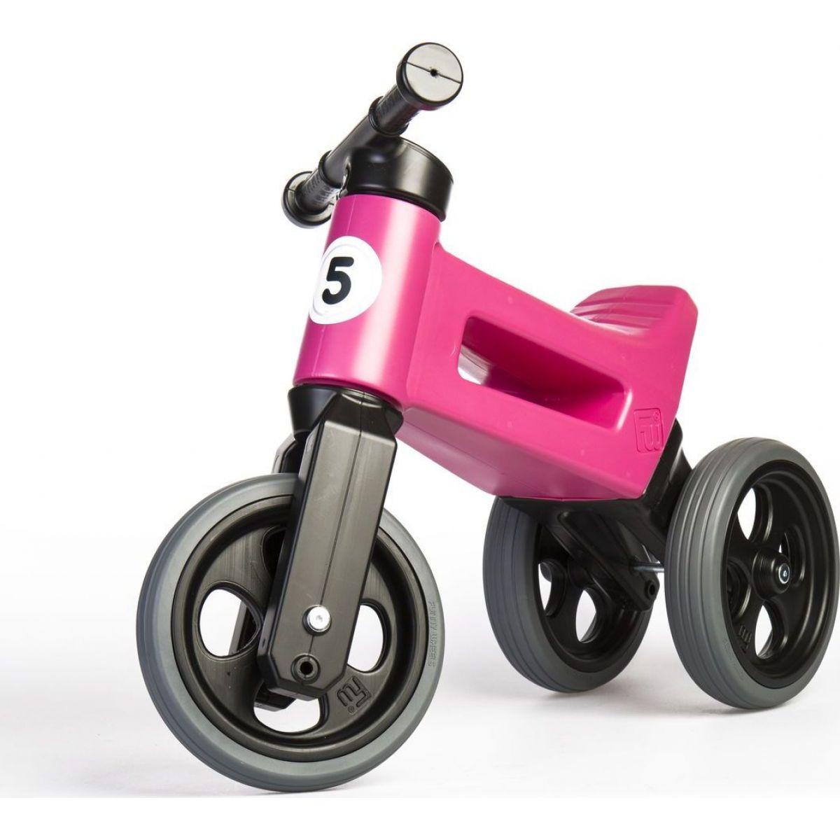 Funny Wheels Odrážadlo 2v1 ružové