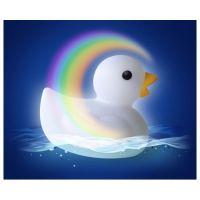 Kamarád do vody Pabobo Lumilove Bath Duck bílá 5