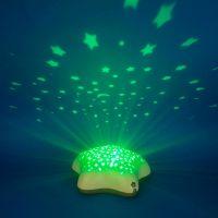 Pabobo Star projektor na batérie Beige Hippo 4