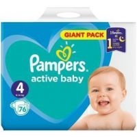 Pampers Active Baby Giant Pack 76 ks