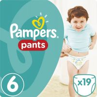 Pampers Pants Extra Large 16+kg Carry Pack S6 19ks