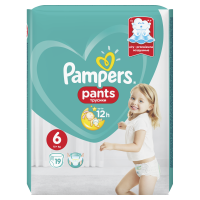 Pampers Pants Extra Large 16+kg Carry Pack S6 19ks 2