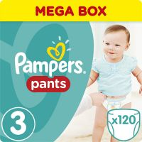 Pampers Premium care 3 midi 4-7kg 120ks
