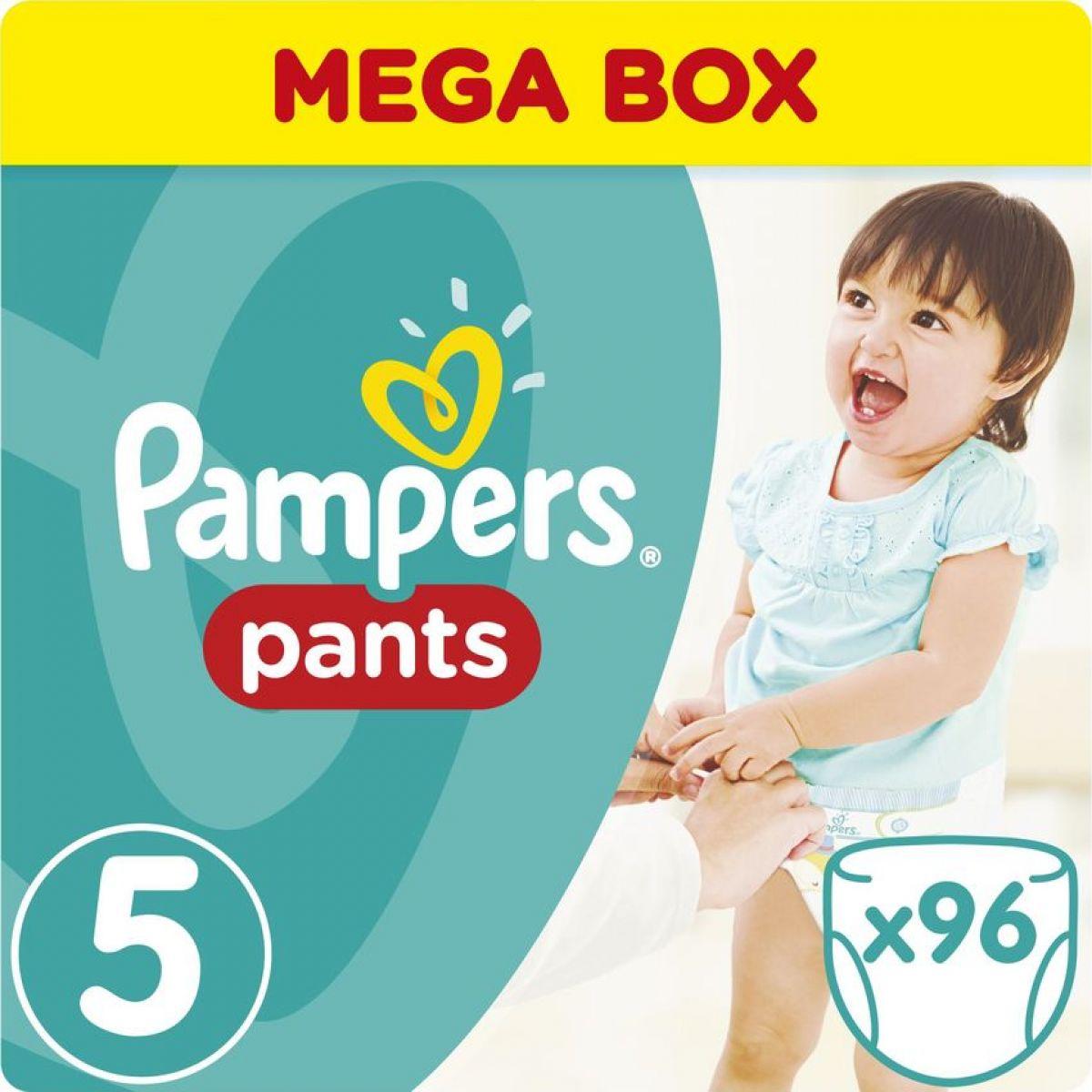Pampers kalhotkové plenky Mega Box S5 96ks - Poškozený obal