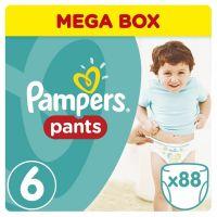 Pampers Pants Extra Large 16+kg Mega Box S6 88ks
