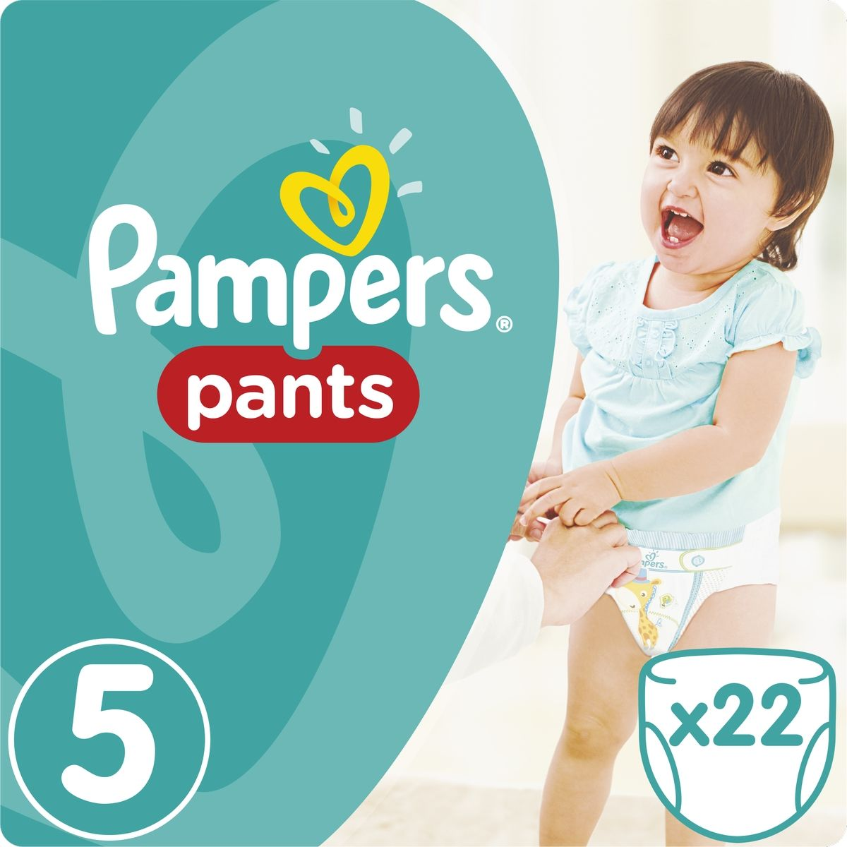 Pampers Nohavičkové plienky Carry Pack 5 Junior 22ks