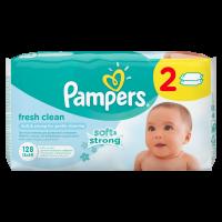 Pampers obrúsky Fresh Clean 2x64ks 2