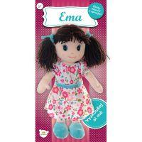 Bábika Ema plyšová 40 cm so zvukom 5