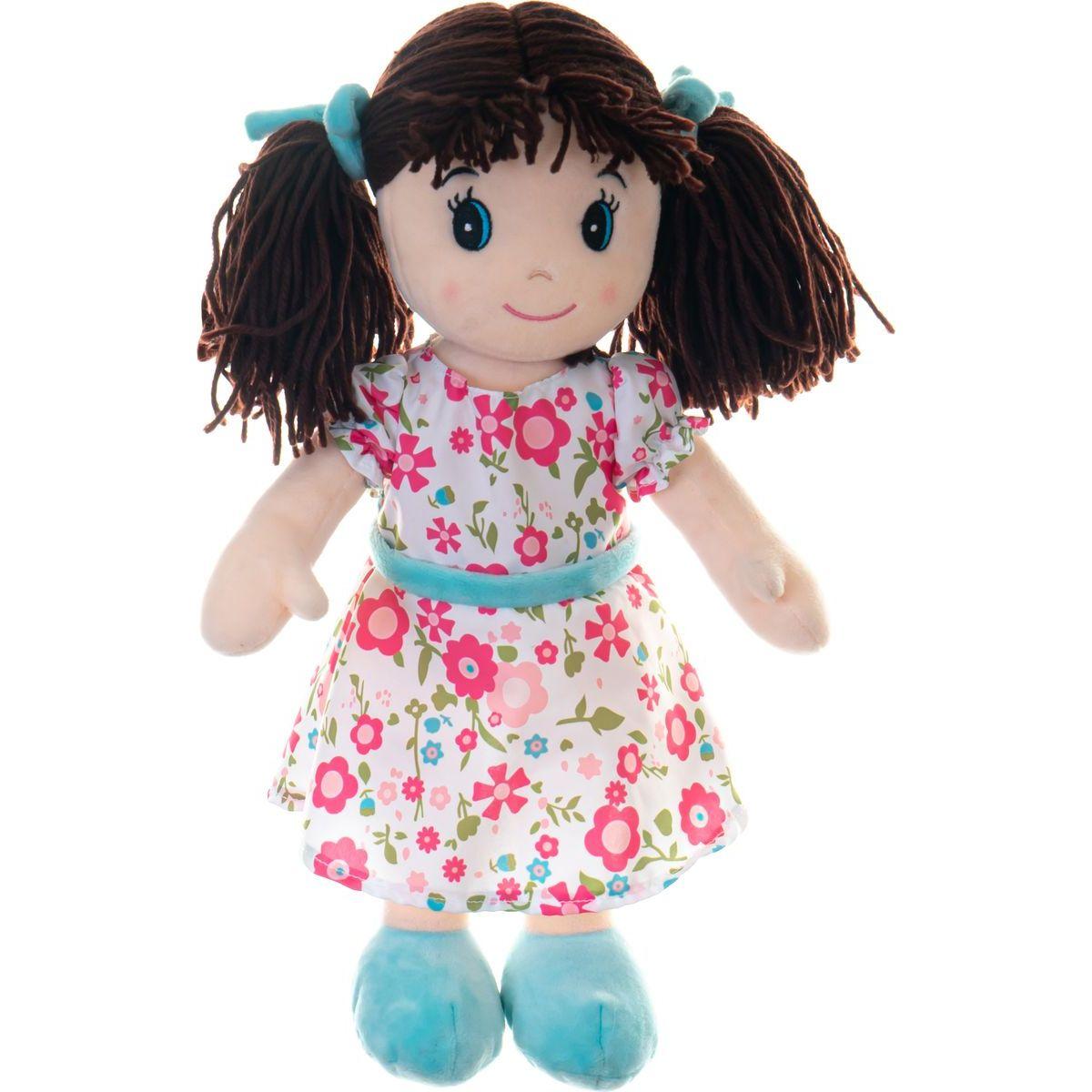 Bábika Ema plyšová 40 cm so zvukom
