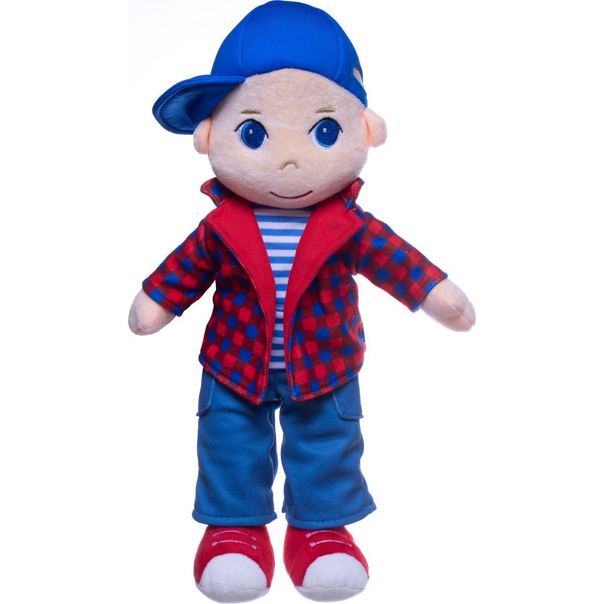 Bábika chalan Tomáš plyš 40 cm so zvukom