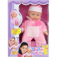 Bábika bábätko Plačúci ružové 2