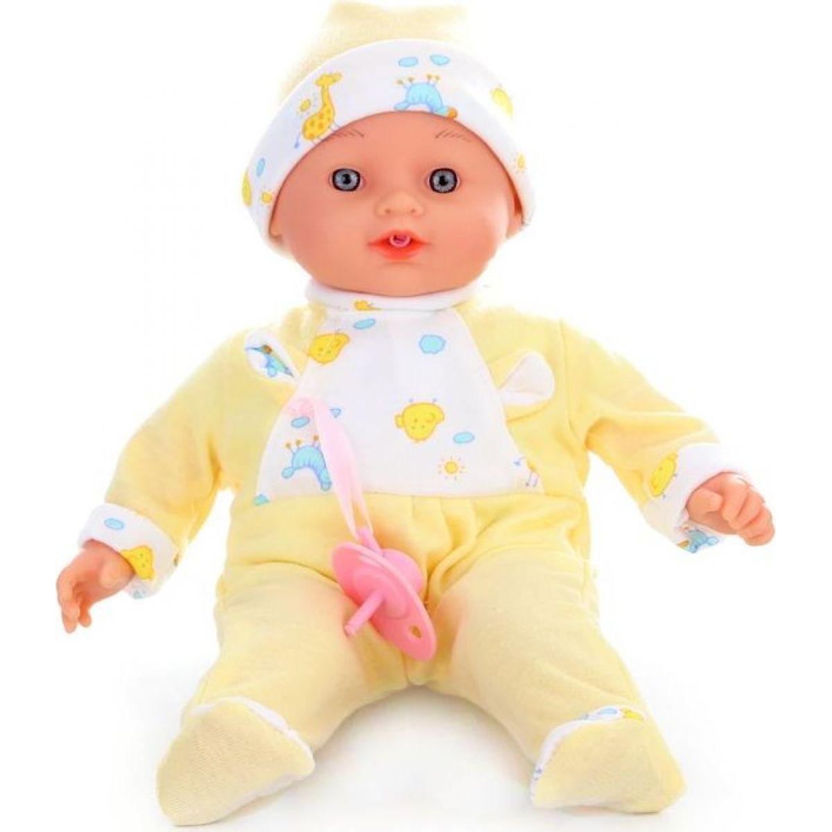 Bábika bábätko Plačúci žlté