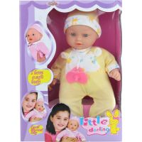 Bábika bábätko Plačúci žlté 2