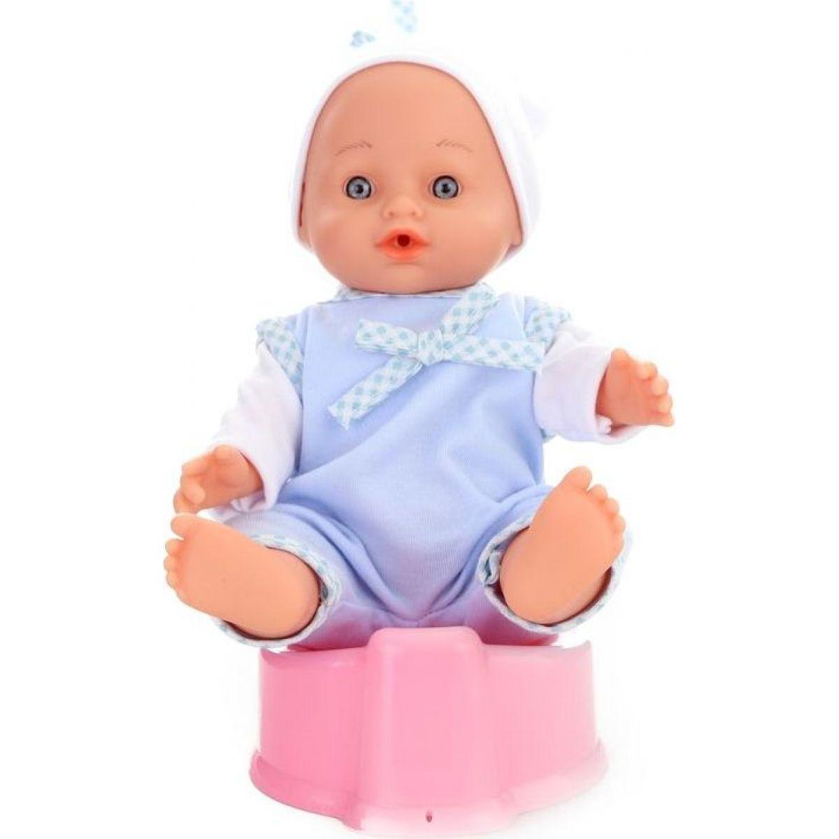 Bábika bábätko Curaco - modrá