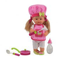 Bábika Nena hovoriaca 36 cm kuchárka