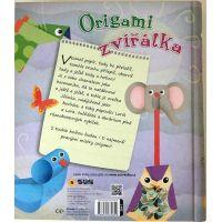 Papierové skladanie Origami zvieratka 2