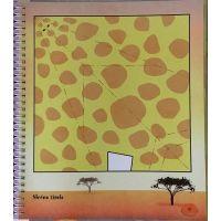 Papierové skladanie Origami zvieratka 3