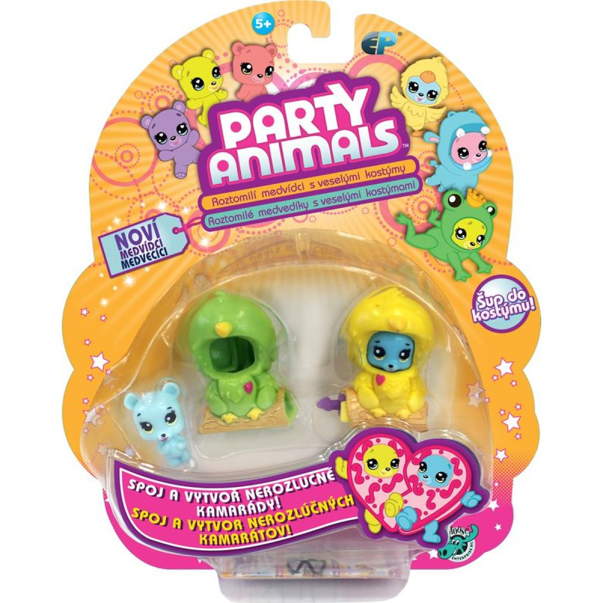 EP Line Party Animals blistr 2