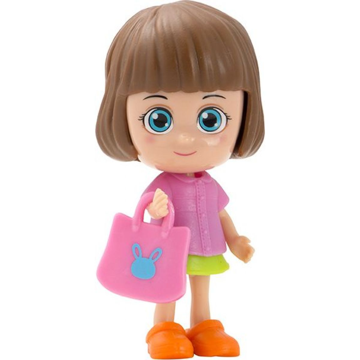 Paula & Friends bábika s doplnkami ružový kabátik
