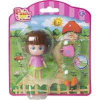 Paula & Friends bábika s doplnkami ružový kabátik 2