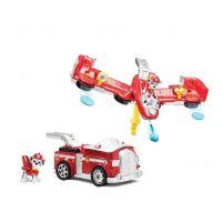 Paw Patrol rýchlo meniace sa vozidlá Marshall Flip a lietajúci stroj 4