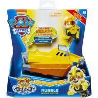 Spin Master Paw Patrol svietiace vozidlá hrdinov so zvukmi Rubble 4