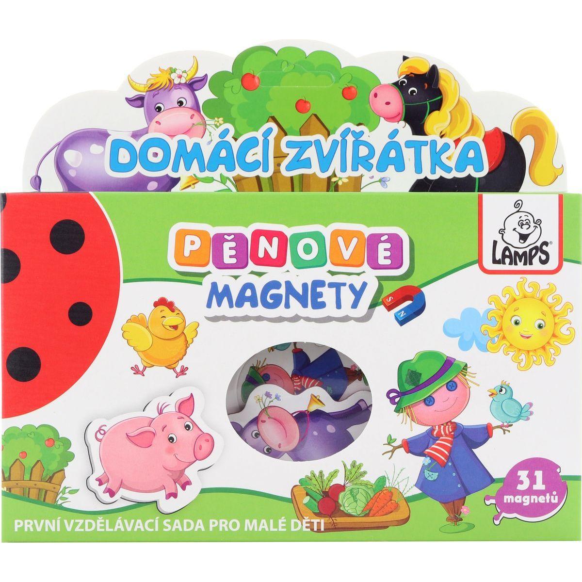 Penové magnety Domáce zvieratka