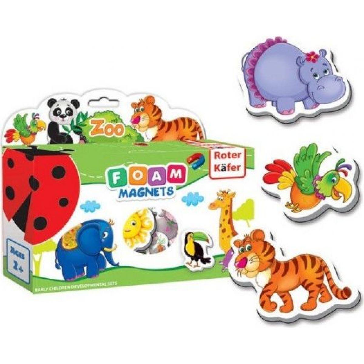 Penové magnety Zoo