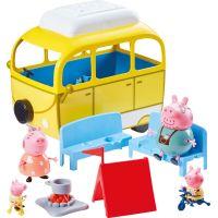 Peppa Pig karavan de Luxe s príslušenstvom 4 figúrky