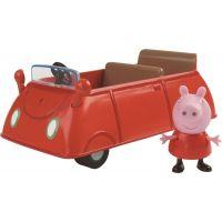 Peppa Pig rodinné auto a figurka