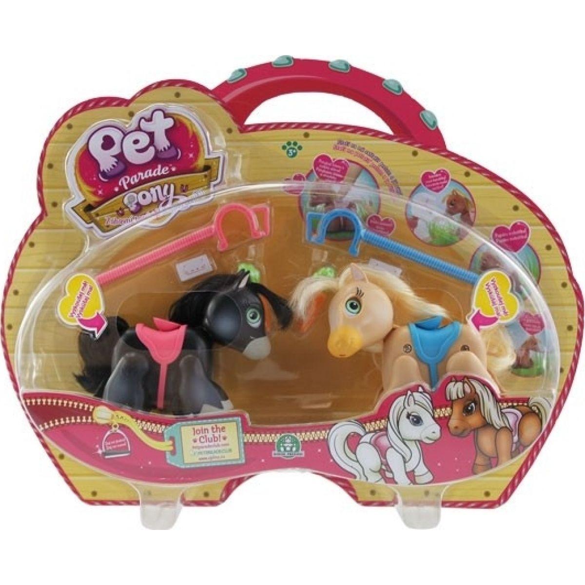 EP Line Pet Parade Poníky 2 ks strakatý poník